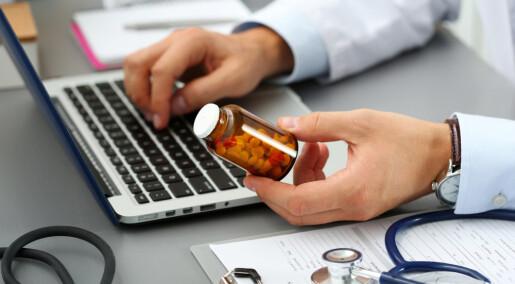 E-resepter hindrer ikke feilmedisinering
