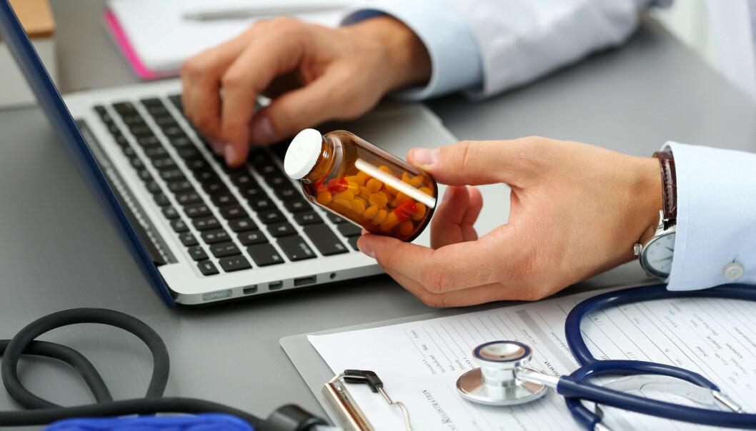 Mange leger har en travel hverdag. At resepten er elektronisk betyr ikke at den alltid er riktig for pasienten. (Illustrasjonsfoto: megaflopp / Shutterstock / NTB scanpix)