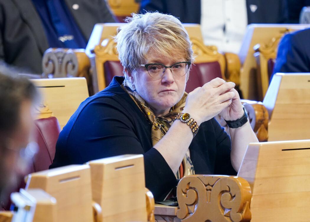 Kulturminister Trine Skei Grande (V) ønsker digitalisering av kulturstoff. (Foto: Terje Pedersen, NTB scanpix)