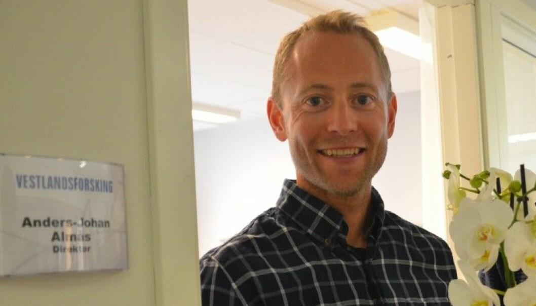 Anders-Johan Almås har utdanning som sivilingeniør, med doktorgrad frå NTNU innan temaet berekraftig klimatilpassing av bygg og anlegg. (Foto: Vestlandsforsking)
