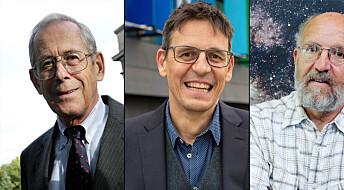 Nobelpris i fysikk for oppdagelse av en planet utenfor vårt solsystem og for teorien om hvordan vi skal forstå universet
