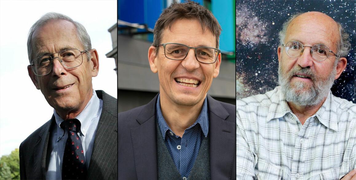 Her er de tre vinnerne i fysikk.