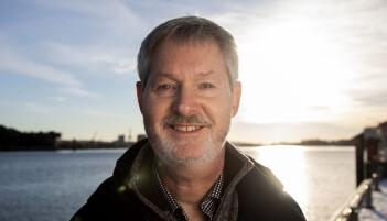 Statsmeteorolog John Smits jobber ved Meteorologisk institutt på Blindern i Oslo. (Foto: Tore Meek / NTB scanpix)