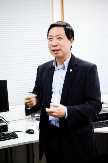Professor Chunming Rong, UiS (Foto: Morten Berentsen/UiS)