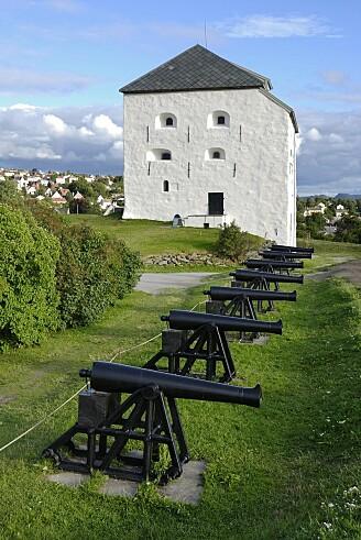 De som bygde Kristiansten festning i Trondheim på 1600-tallet, la inn rester av døde dyr i materialet. Da disse råtnet og avga gasser, gjorde de materialet porøst, og dermed altså sterkere. (Foto: Shutterstock, NTB Scanpix)