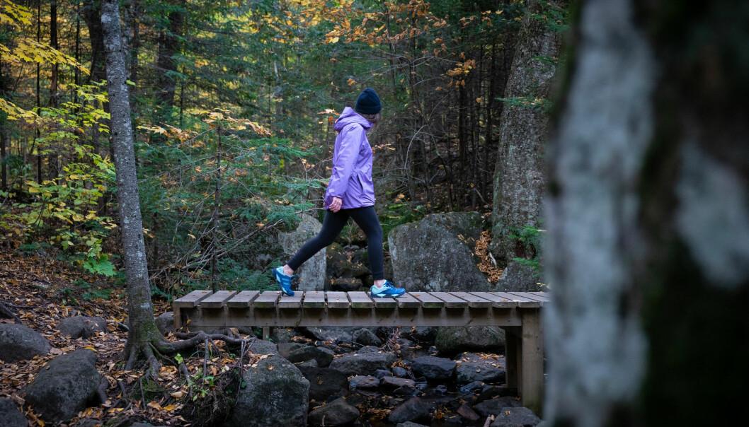 Det finnes god dokumentasjon på at fysisk aktivitet utendørs styrker den mentale helsen, ifølge norsk forsker. (Illustrasjonsfoto: Samuel V.Rocheleau / Shutterstock / NTB scanpix)