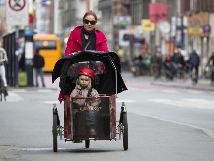 I København brukes sykler til fire av ti reiser. (Foto: News Øresund, Creative Commons)
