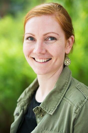 Cecilie Fromholt Olsen fikk toppkarakter for sin masteroppgave om beinskjøre og frykten for å falle. Foto: Sonja Balci / HiOA