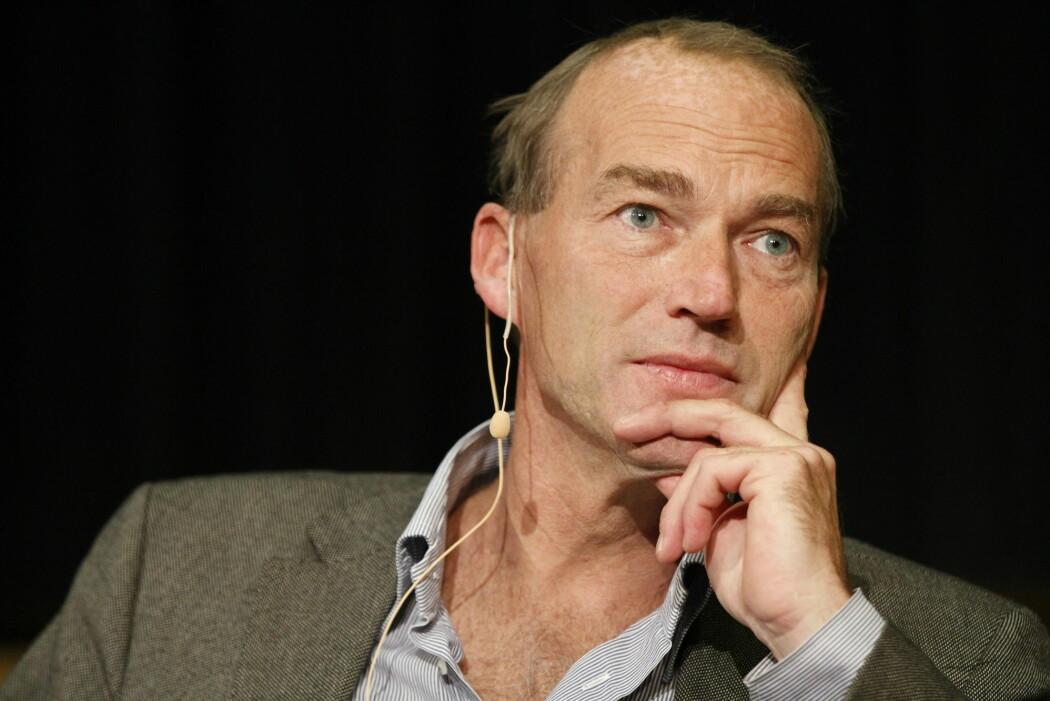 Thomas Hylland Eriksen, her i samtale under åpningen av idéfestivalen på Blindern i 2011. (Arkivfoto: Thomas Winje Øijord / NTB scanpix)