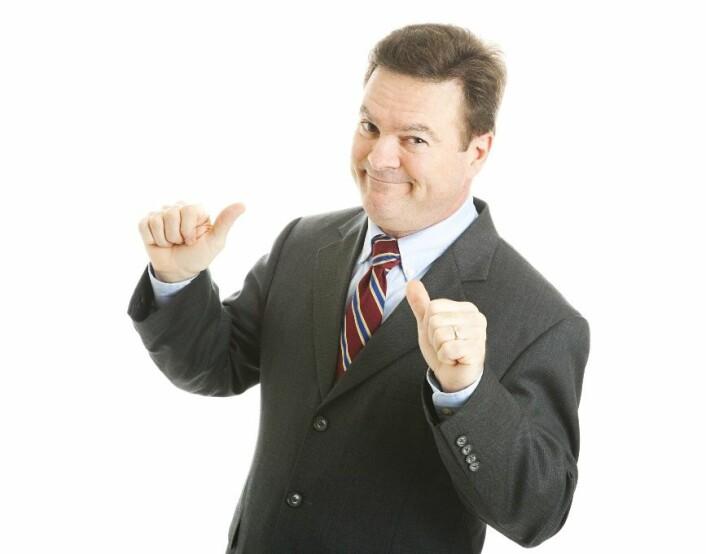 Ledere med narsissistiske trekk kjører sin egen agenda uten å ta hensyn til folk rundt seg. (Foto: Microstock)