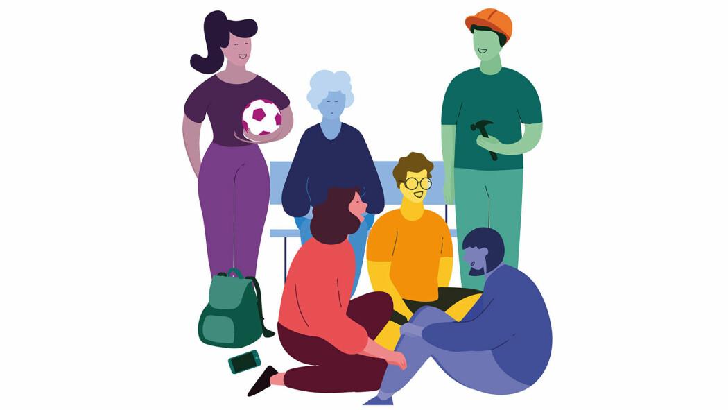 (Illustrasjon: Verdensdagen for psykisk helse)