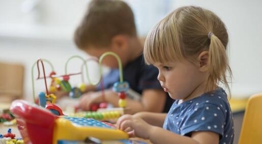 Lanserer verktøy mot mobbing i barnehagen