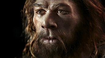 Stakkars det første mennesket med et språkgen