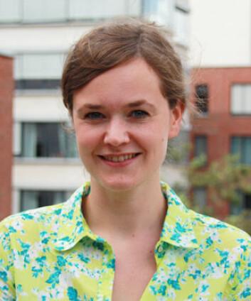 Kjersti Nesje forsker på motivasjon hos sykepleiere. (Foto: Kjersti Lassen / HiOA)