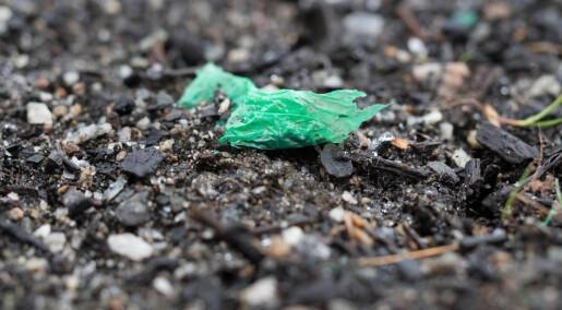 Plast på avveie i jord