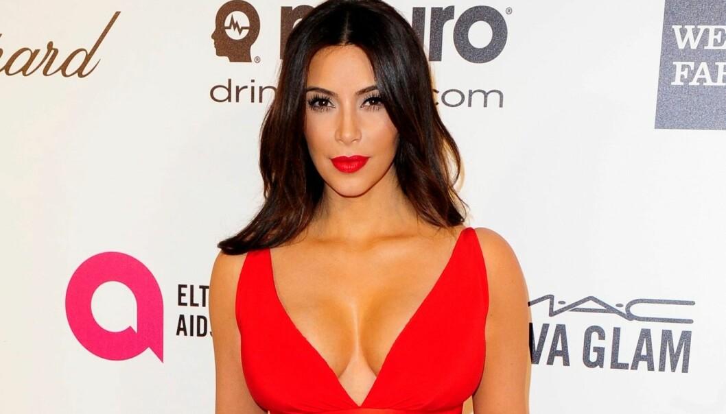 Navnet til superkjendis Kim Kardashian piffet opp interessen for forskerens artikkel. (Foto: Gus Ruelas, Reuters)