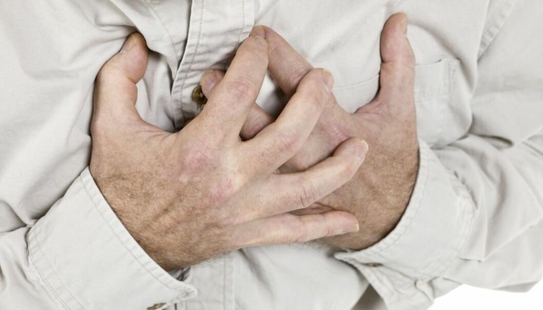 Nye teknikker for bildebehandling gjør det lettere å vurdere faren for hjerteinfarkt. (Foto: Microstock)