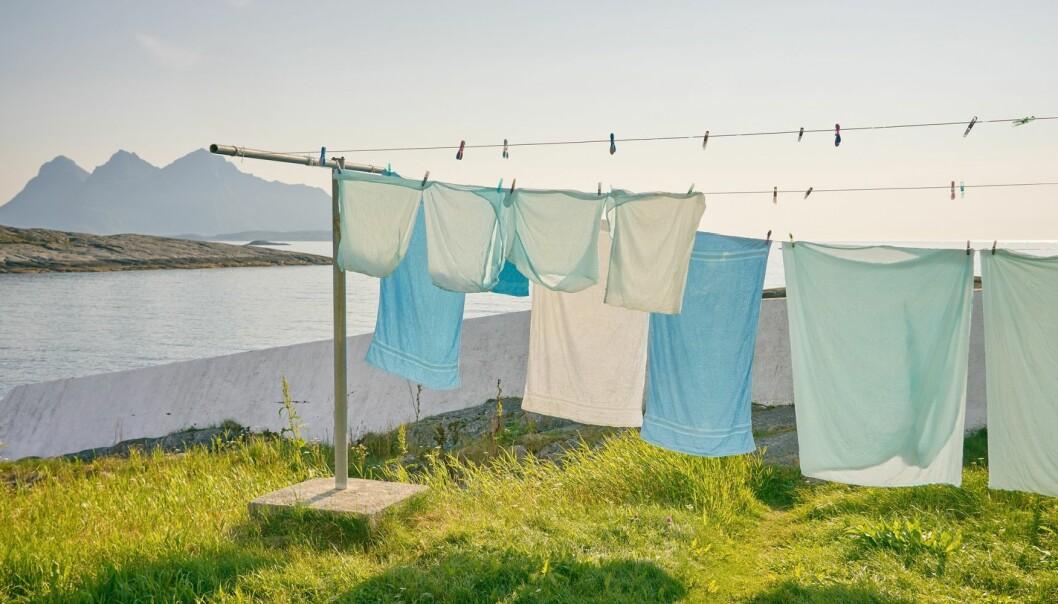 – Det beste rådet er alt som dreier seg om å vaske sjeldnere, sier SIFO-forsker Ingun Grimstad Klepp. (Foto: Vidar Nordli-Mathisen/Unsplash)