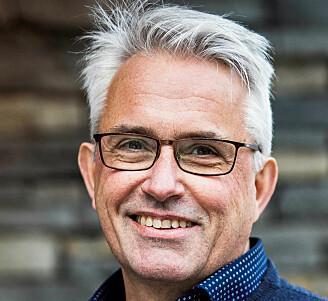 Kjell-Morten Myhr tror at røyking og MR blant MS-pasienter øker kreftrisiko. (Foto: Ingvild Festervoll Melien)