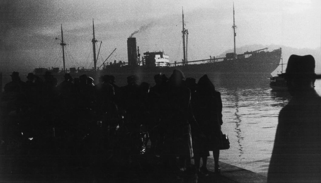 Ved Amerikalinjens kai, Utstikker 1 i Oslo, forlot det tyske skipet Donau kaia den 26. november 1942. Om bord var 529 jøder som skulle til utryddingsleirene. Forskere gjør fortsatt nye funn i arkivene som avdekker hvor mye norske politikere visste om hvor de skulle. (Foto: Georg W. Fossum/NTB scanpix)