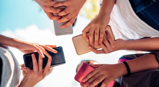 Så raskt skriver ungdommer på mobilen