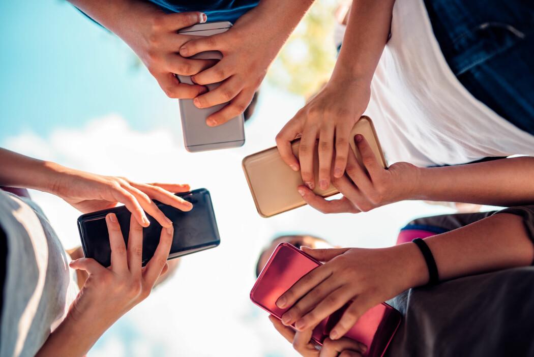 Ungdommene som deltok i undersøkelsen skrev i gjennomsnitt 40 ord i minuttet. (Illustrasjonsbilde: Zivica Kerkez, Shutterstock, NTB scanpix)