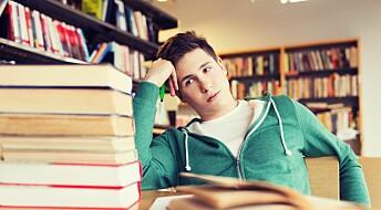 Kjedsomhet kan føre til frafall i skolen