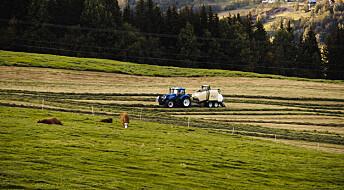Landbrukseiendommer utgjør størsteparten av Norge