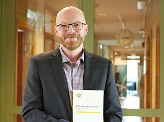 Jo Ese har tatt doktorgraden på ulydige akademikere. (Foto: Christina Knowles, Karlstads universitet)