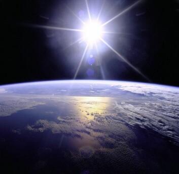 Det er viktig å vite helt nøyaktig hvordan og hvorfor solens aktivitet påvirker klimaet på jorden for å forstå den globale oppvarmingen. (Foto: NASA)