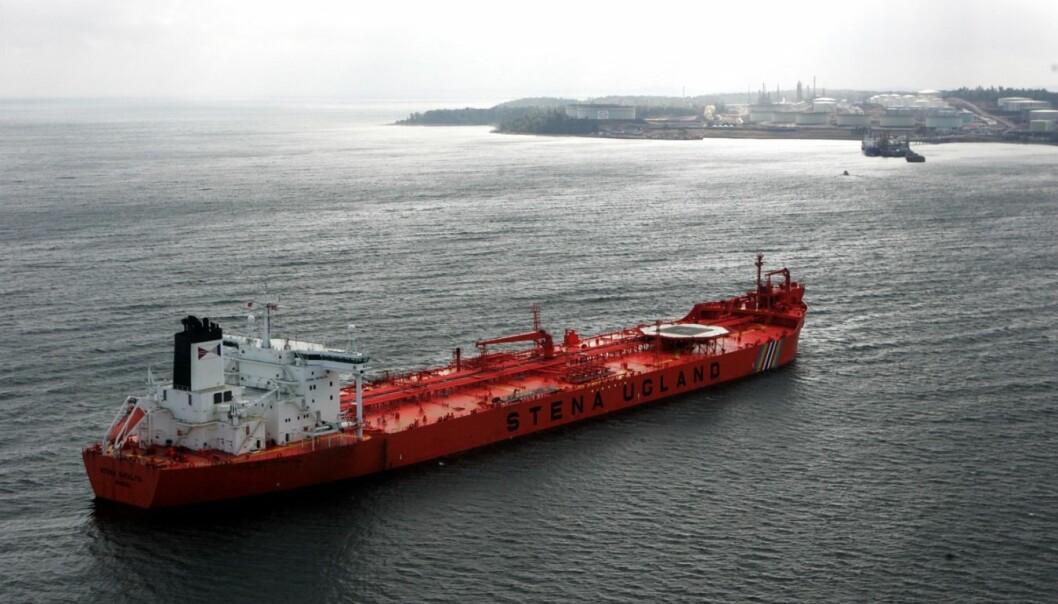 Om ti til tjue år kan vi ha 200 meter lange lasteskip som opererer helt uten skipper og mannskap, mener forskere.  (Foto: Scanpix, Cornelius Poppe)