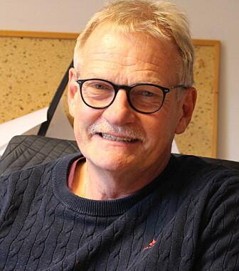 Forsker Øystein Ahlstrøm ved NMBU forsker på ernæring til husdyr, spesielt hund, katt og pelsdyr. (Foto: Elise Kjørstad)