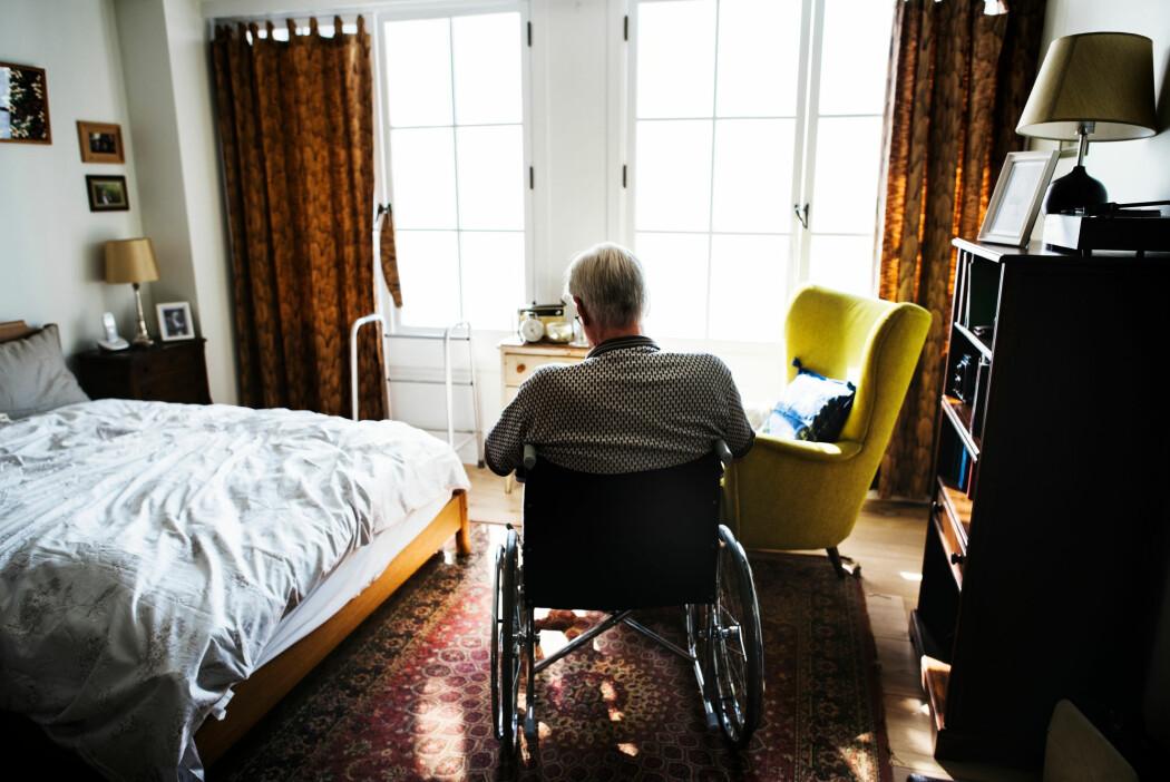 Gjennomsnittsalderen for å få ALS er 60 år, og flere menn rammes enn kvinner. (Illustrasjonsbilde: Rawpixel.com, Shutterstock, NTB scanpix)