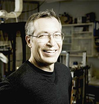 Joel Glover er professor i hjerneutvikling og ALS-forsker ved Universitetet i Oslo. (Foto: UiO)