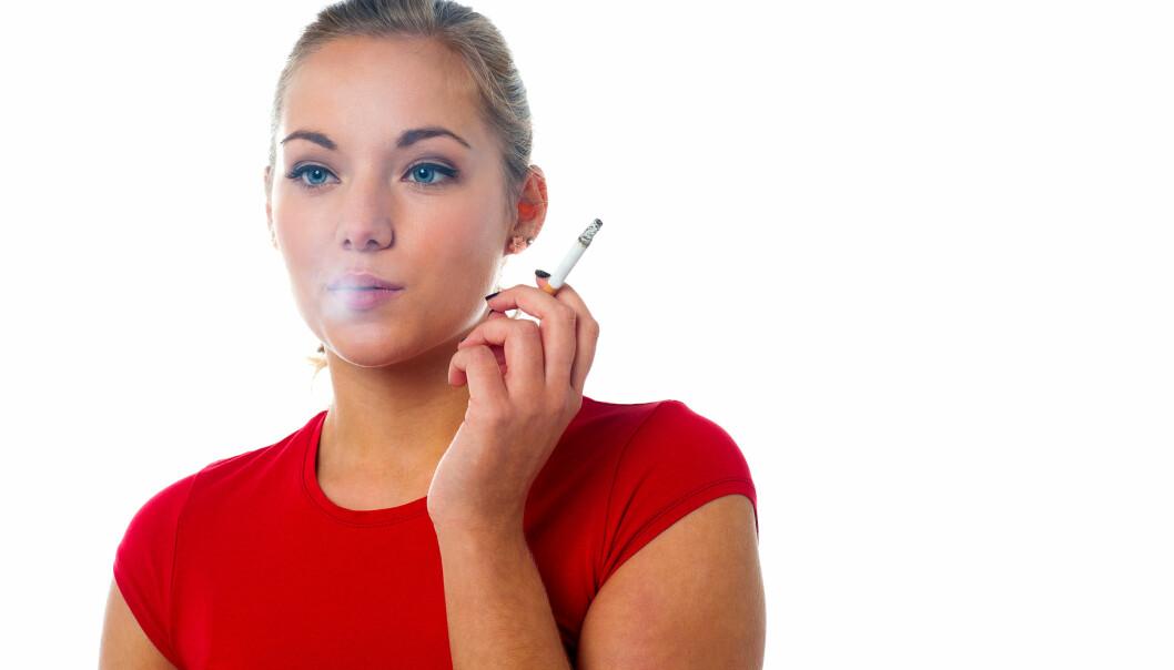Genfeilen BRCA2 er mest kjent for å øke risikoen hos kvinner for brystkreft og eggstokkreft. En studie hvor norske forskere har deltatt, viser at den samme genfeilen dramatisk øker risikoen for at røykere kan få lungekreft.  (Illustrasjonsfoto: Colourbox)