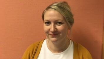 NOVA-forsker Eirin Mo Danielsen ved OsloMet. (Foto: Halvard Dyb / NOVA)