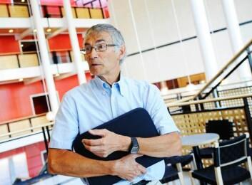 Pedagogikkprofessor Svein Sjøberg. (Foto: Ola Sæther, Uniforum)