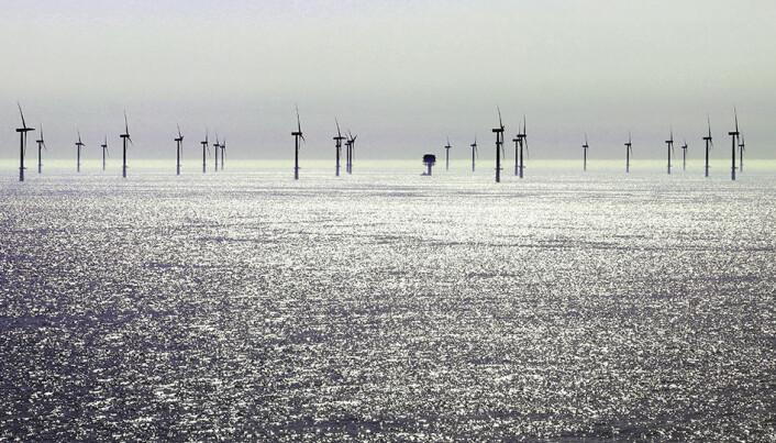 Satsing på havvind har gått i faser som henger sammen aktivitet aktivitet i oljenæringen. (Illustrasjonsfoto: Colourbox)