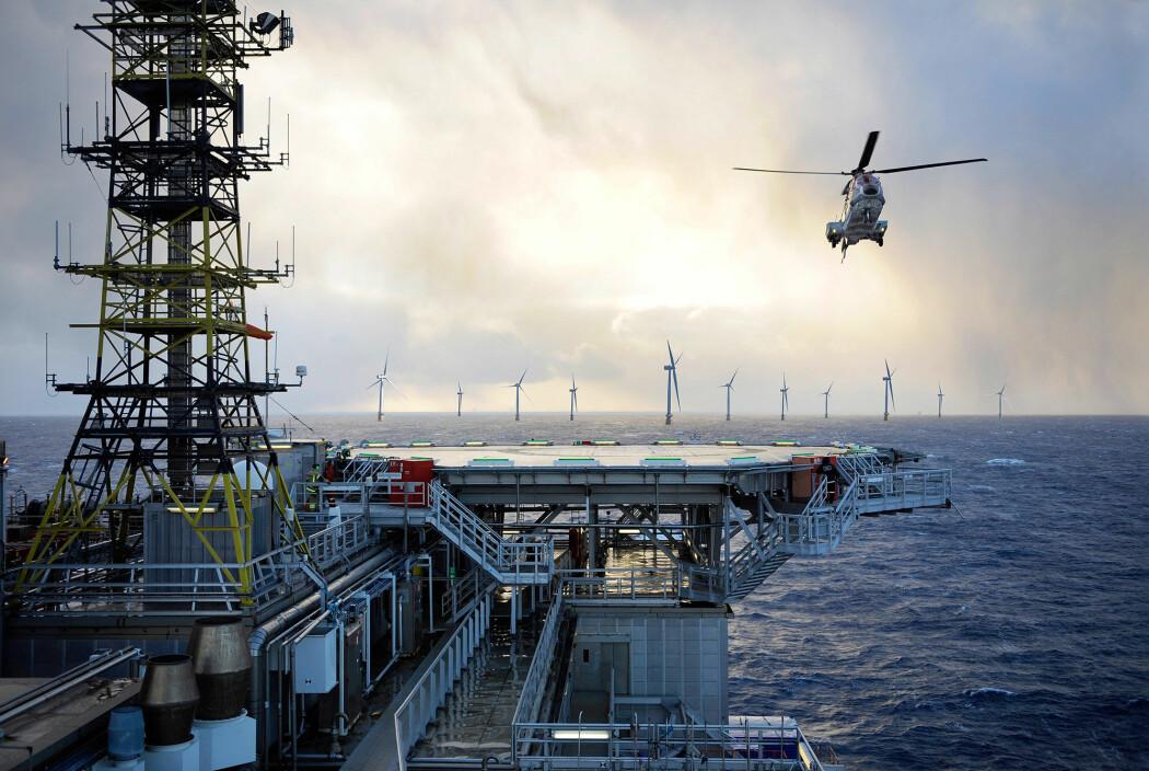 I Norge står fornybar energi-industrien på skuldrene til annen teknologi: Solindustrien har basis i metallindustrien, og havvindteknologien har basis i maritime næringer. Dette er en styrke som gir de nye fornybar-teknologiene et stort fortrinn. (Illustrasjonsfoto: Equinor)