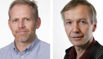 Markus Steen (t.v.) og Asbjørn Karlsen ønsker det skal legges bedre til rette for at norsk industri kan ta del i utviklingen av havvindteknologi.