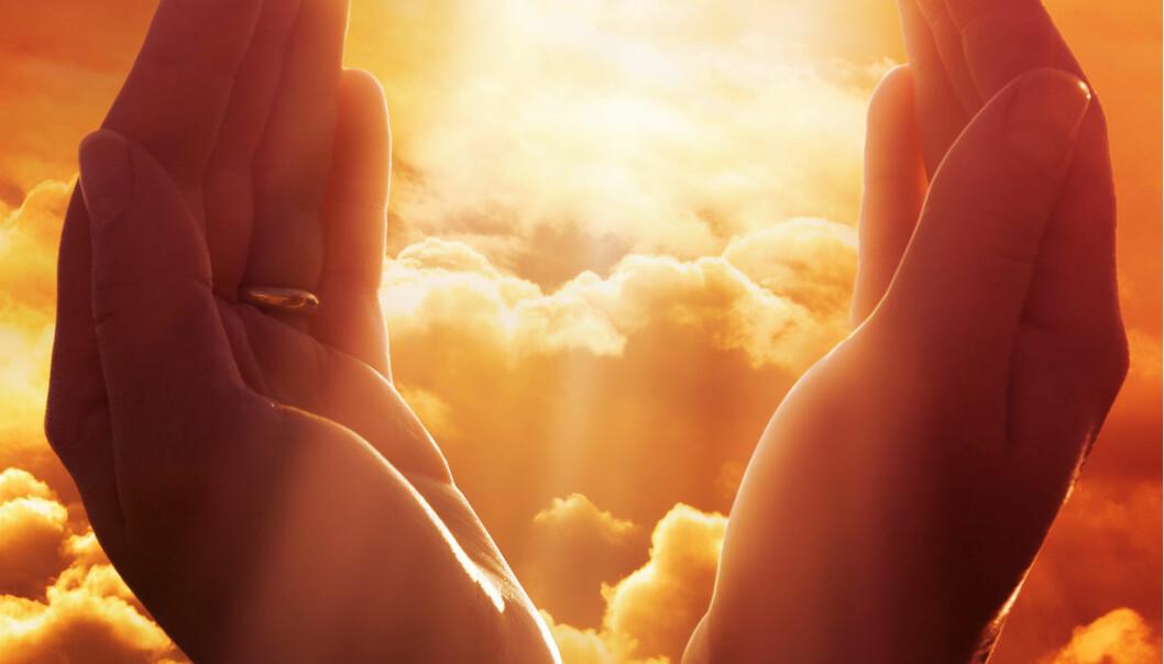 – Bønnene legger opp til at man bruker sansene aktivt for å få kontakt med Gud, sier Skinnebach.  (Foto: Microstock)