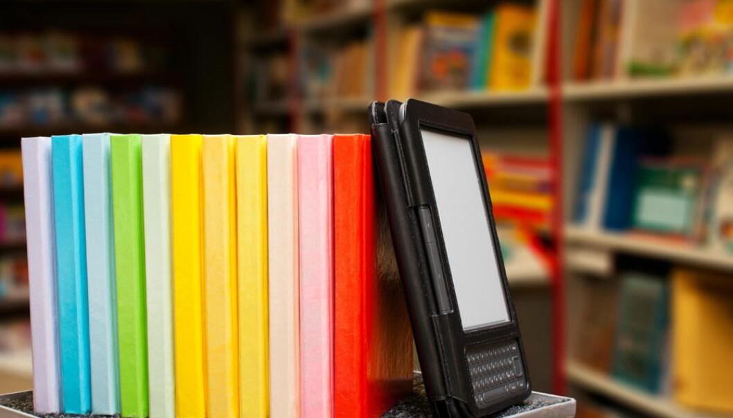 Lesebrettet Kindle gir dårligere forståelse av rekkefølgen på hendelser i fortelling, ifølge ny undersøkelse. (Illustrasjonsfoto: www.colourbox.no)