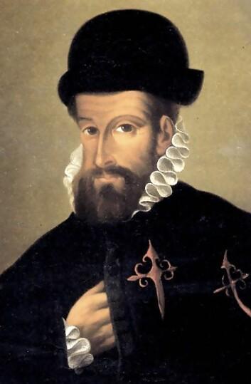 Spanjolen Francisco Pizarro ledet ekspedisjonen som knuste Inka-riket i Peru, og han grunnla Perus hovedstad Lima. (Foto: Public domain)