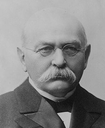 Gunnar Knudsen var skipsreder, venstremann og Norges statsminister under 1. verdenskrig. Han var klart orientert mot Storbritannia. (Foto: regjeringen.no)