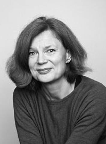 Mari Hvattum ved Arkitektur- og designhøgskolen i Oslo (AHO) (Foto: AHO)