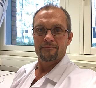 Erlend Bøen, spesialist i nevrologi og psykiatri ved Enhet for psykosomatikk og CL-psykiatri på Rikshospitalet. (Foto: Erlend Bøen)