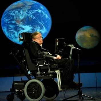 Stephen Hawking er kanskje verdens mest berømte ALS-pasient. Det er en nervesykdom som angriper celler i ryggmargen og hjernen.  (Foto: Wikimedia Commons)