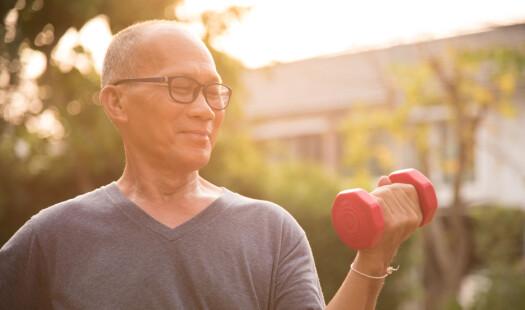 Bør prostatakreftpasienter på hormonbehandling trene styrke?
