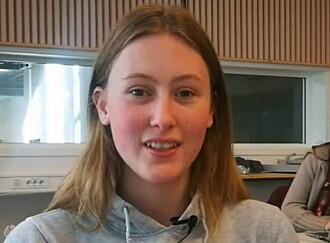 Det er et vanskelig spørsmål, synes Ingvild Bergseng. Men hun mener likevel at 16-åringer ikke bør få stemmerett. (Foto: Marianne Nordahl)