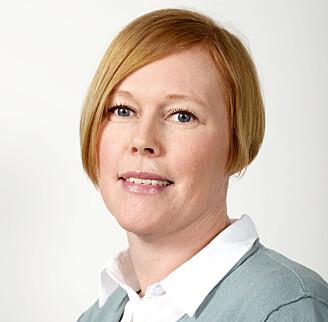 Gro Hilde Severinsen er en av to forskere som jobber med å utvikle den aller første strukturen av klinisk informasjon i en pasientjournal ved Universitetssykehuset Nord-Norge. (Foto: Nasjonalt senter for e-helseforskning).